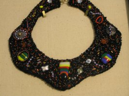 Bead Embroidered Neckpiece