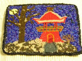 "Bead Embroidery 5""x7"""