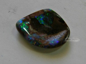 Australian Opal, in matrix