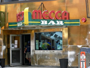 The famous Mecca Bar
