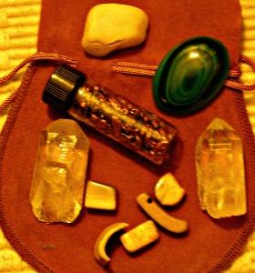 quartz pts, malachite, copper nuggets, mammoth ivory