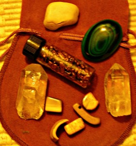 quartz pts, malachite, copper nuggets, mammoth ivory